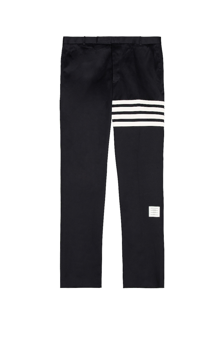 Image 1 of Thom Browne Cotton Twill Unconstructed Chino in Navy
