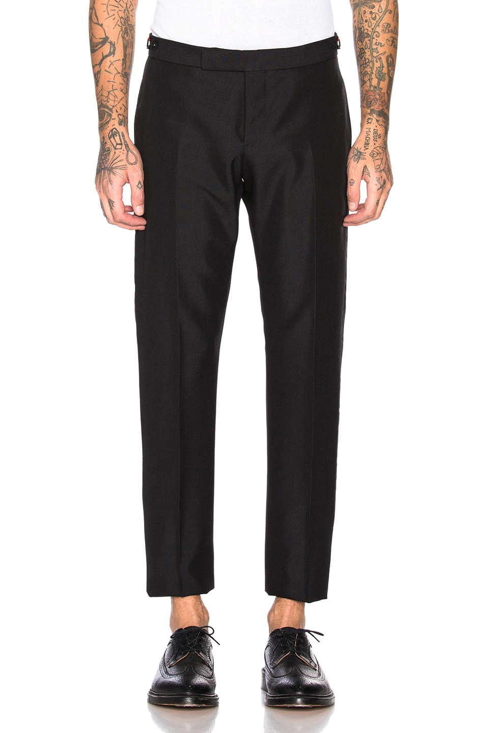 Image 1 of Thom Browne Trousers in Black