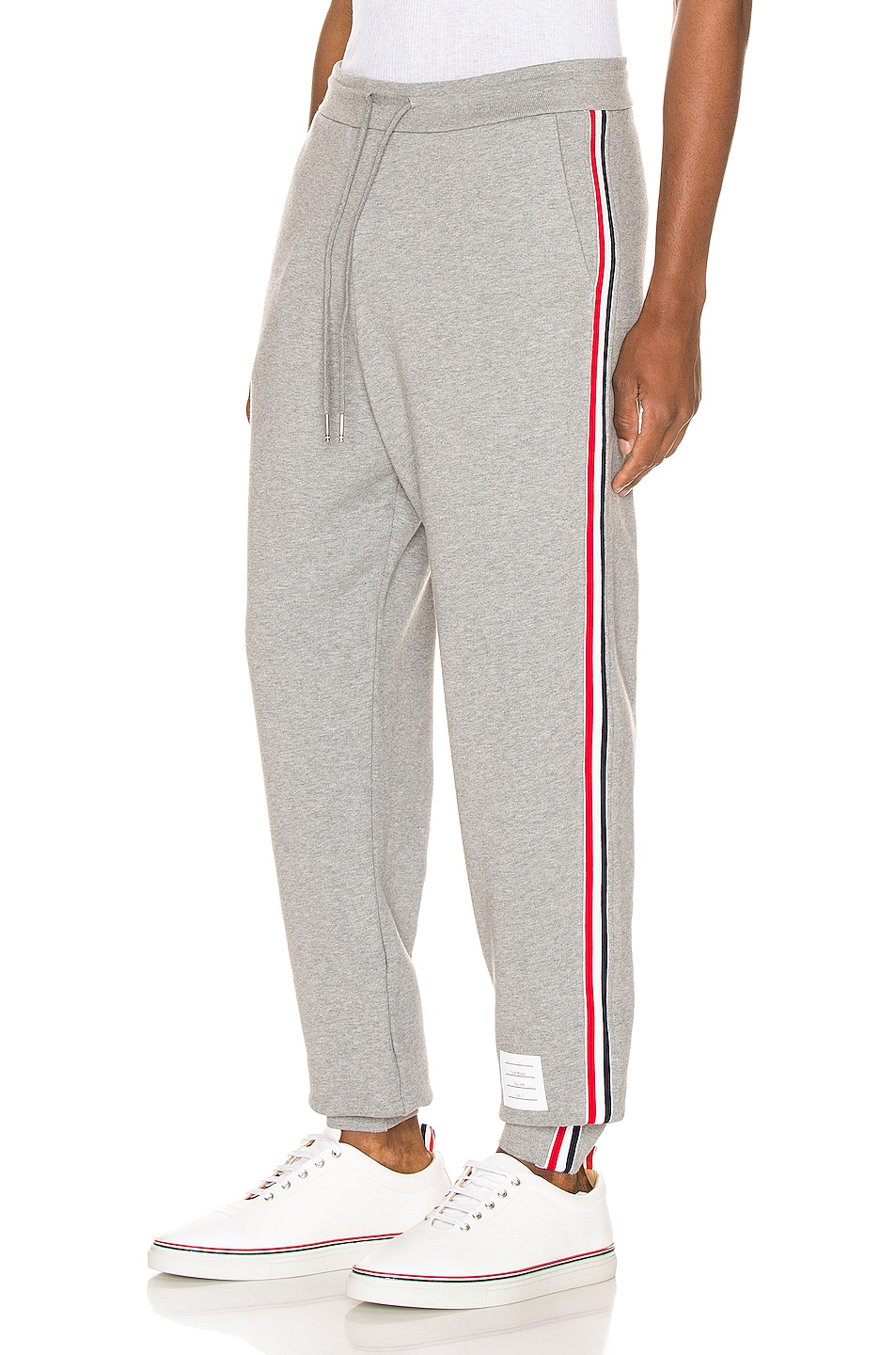 Image 1 of Thom Browne Sweatpants in Light Grey