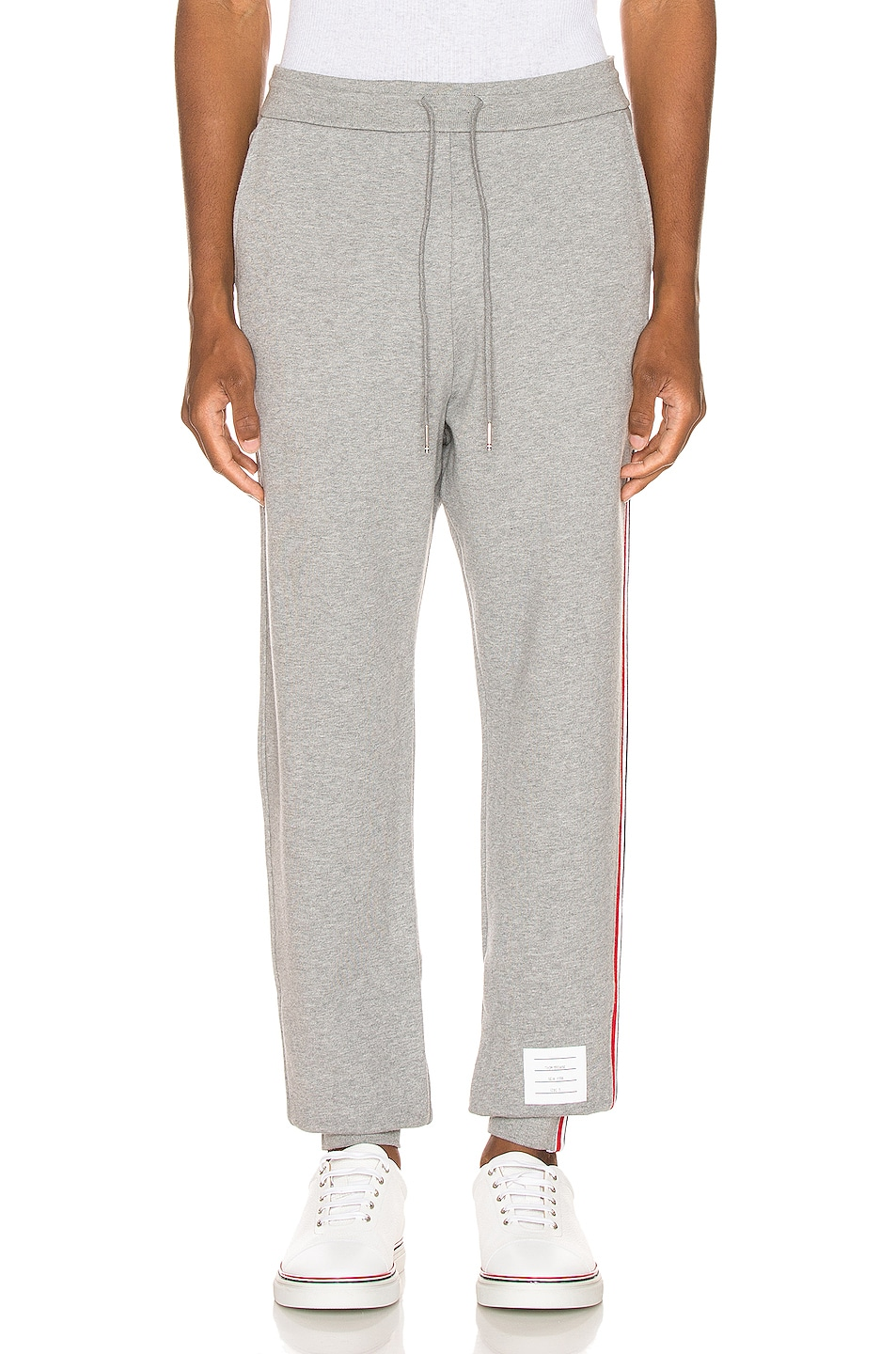 Image 2 of Thom Browne Sweatpants in Light Grey