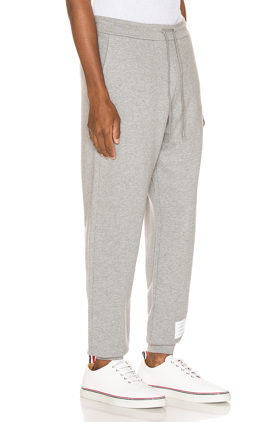 Image 3 of Thom Browne Sweatpants in Light Grey