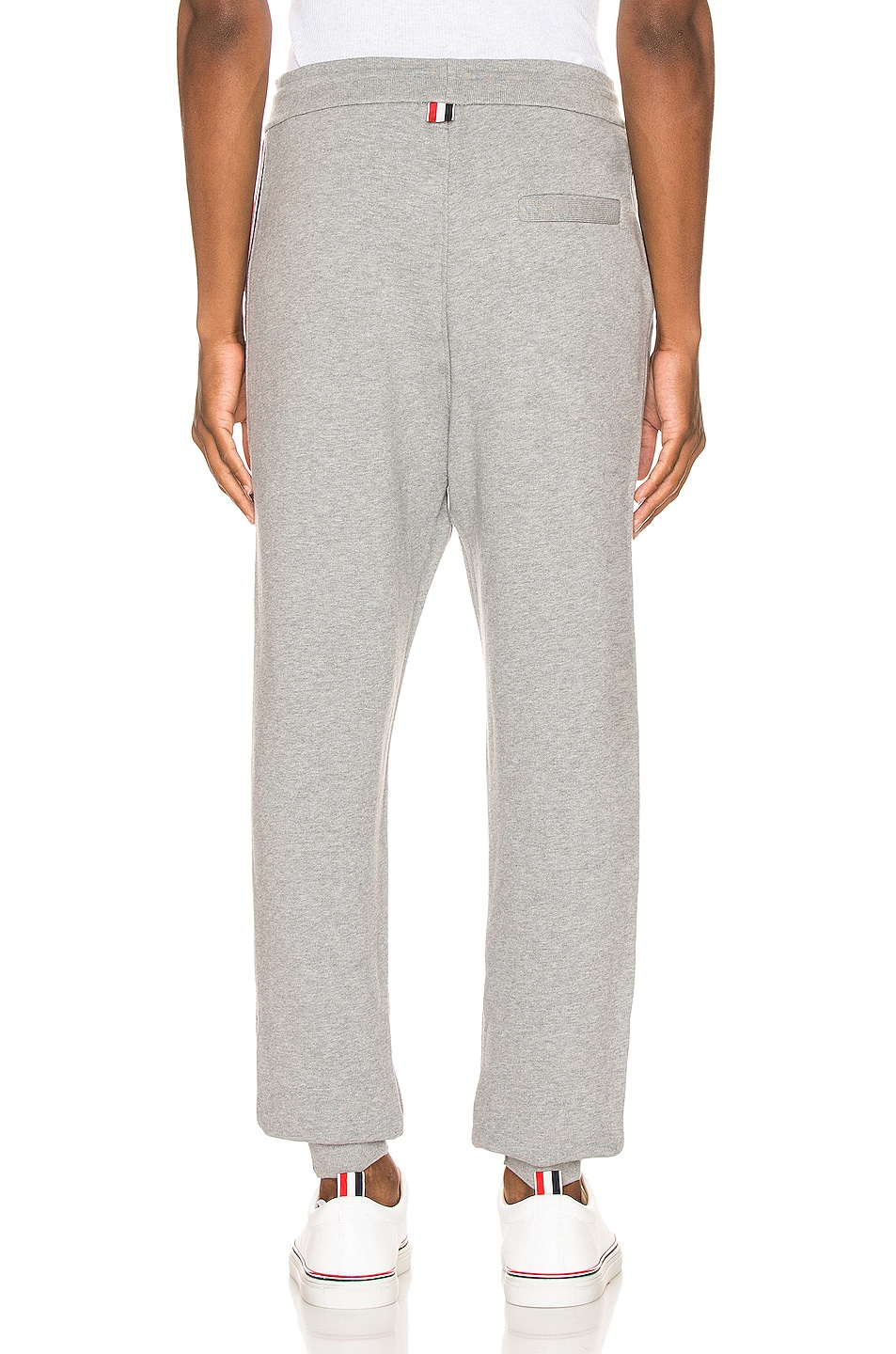 Image 4 of Thom Browne Sweatpants in Light Grey