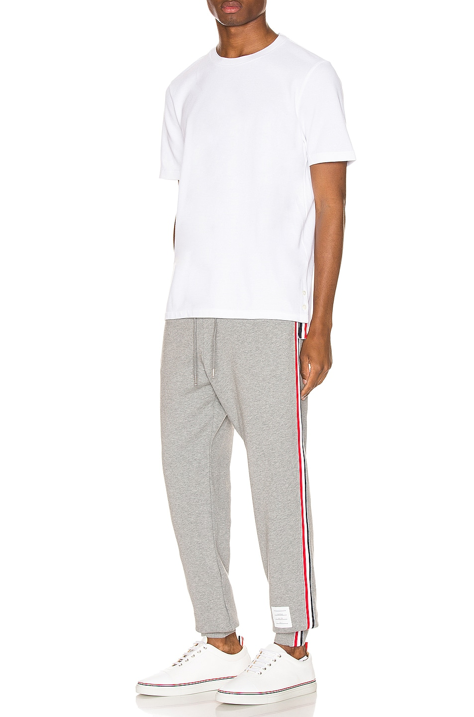 Image 5 of Thom Browne Sweatpants in Light Grey
