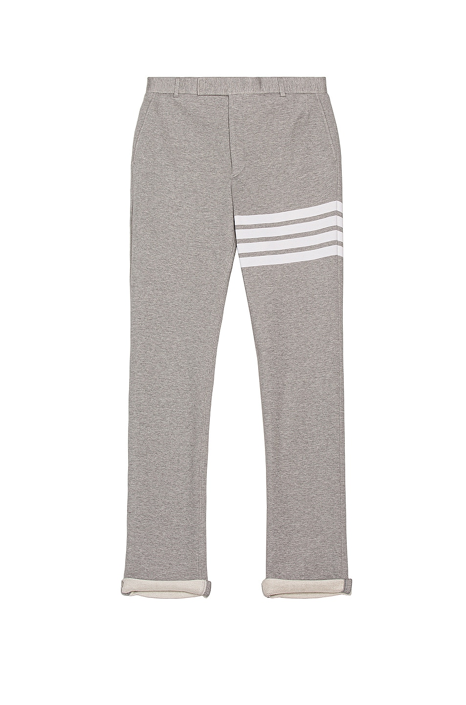 Image 1 of Thom Browne Unconstructed Chino Pant in Light Grey