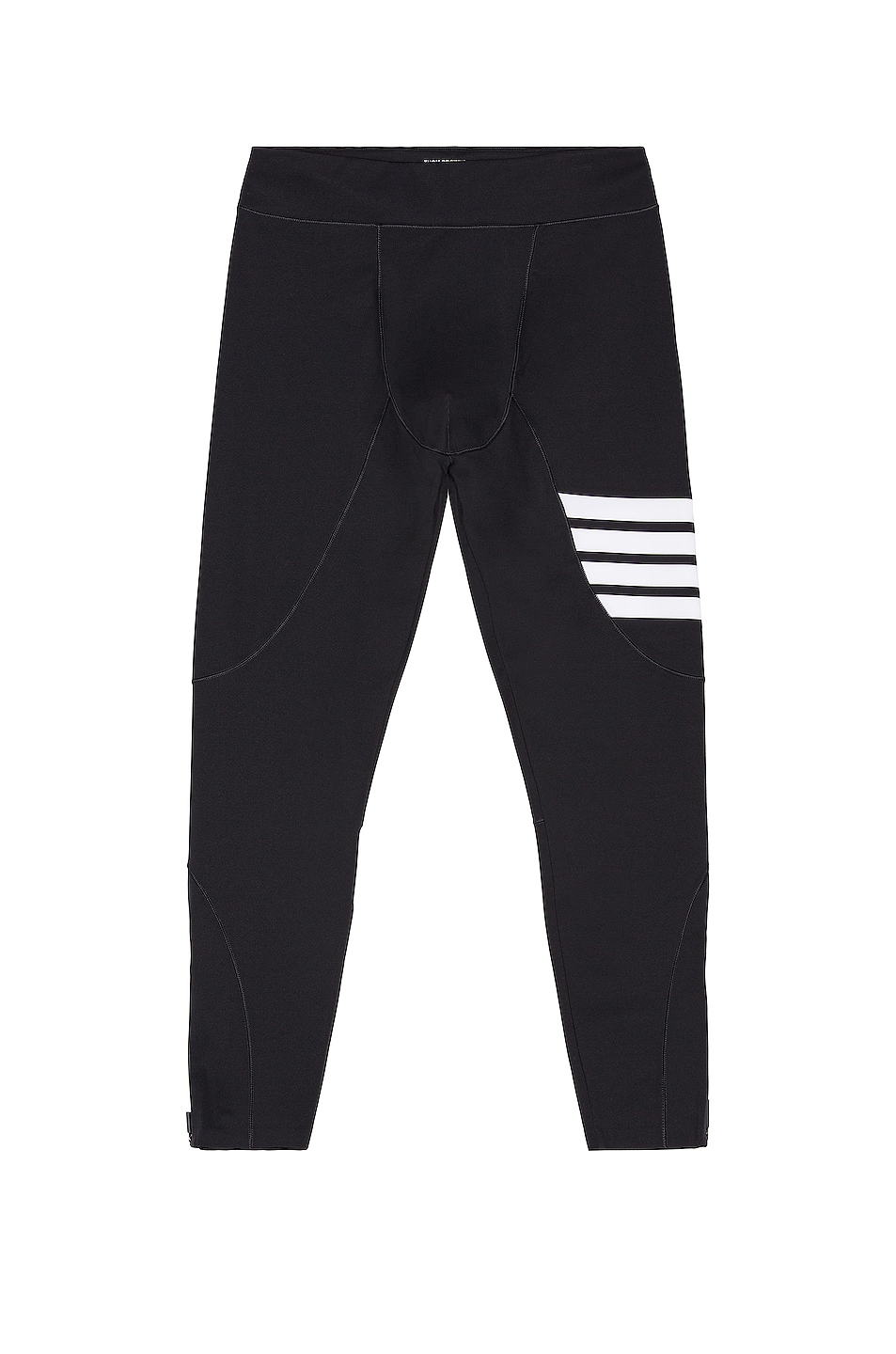 Image 1 of Thom Browne 4 Bar Compression Tights in Charcoal