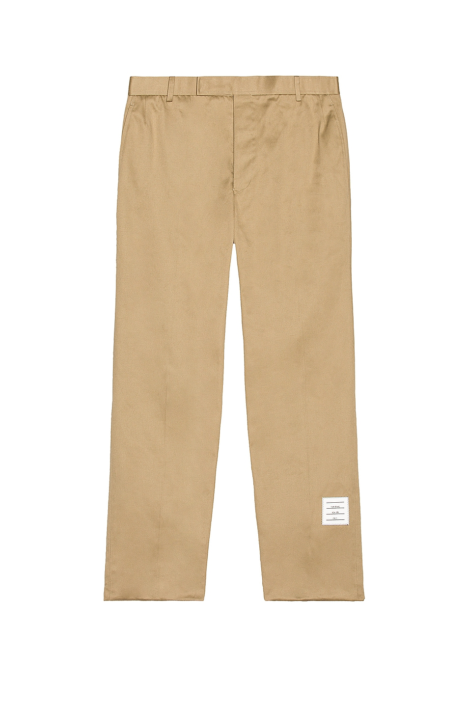 Image 1 of Thom Browne Unconstructed Chino Trouser in Camel