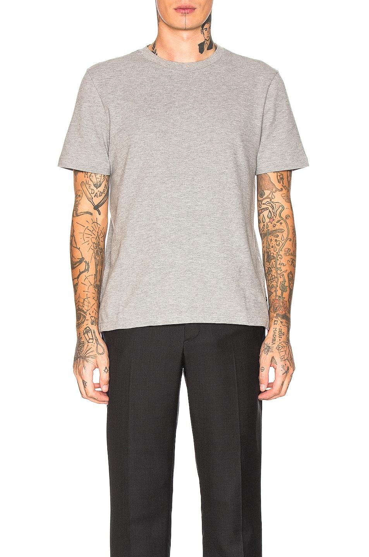Image 4 of Thom Browne Backstripe Pique Shirt in Light Grey