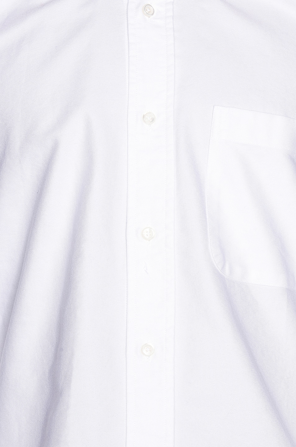 Image 5 of Thom Browne Classic Point Collar Button Up Shirt in White