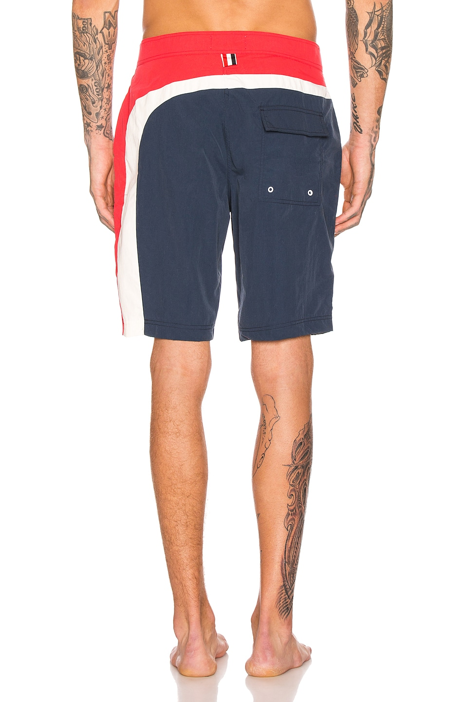 Image 4 of Thom Browne Board Shorts in Navy