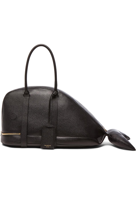 Image 1 Of Thom Browne Whale Bag In Black