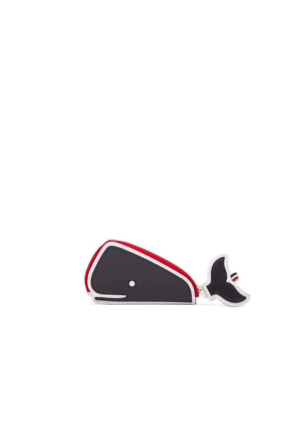 Image 2 Of Thom Browne Fun Mix Whale Bag In Red White Blue
