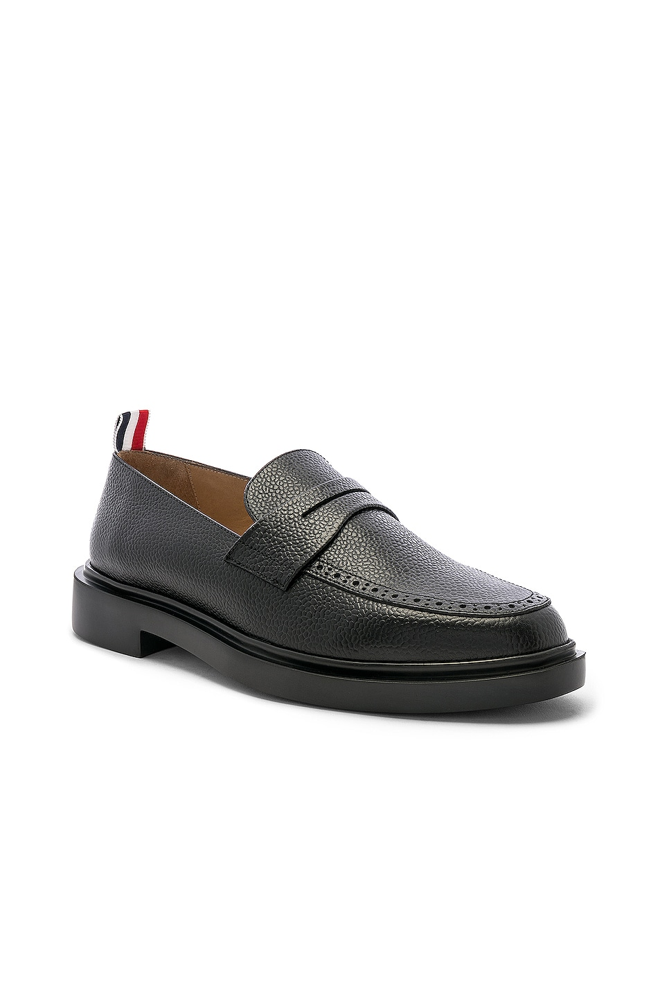 Image 2 of Thom Browne Rubber Sole Loafer in Black