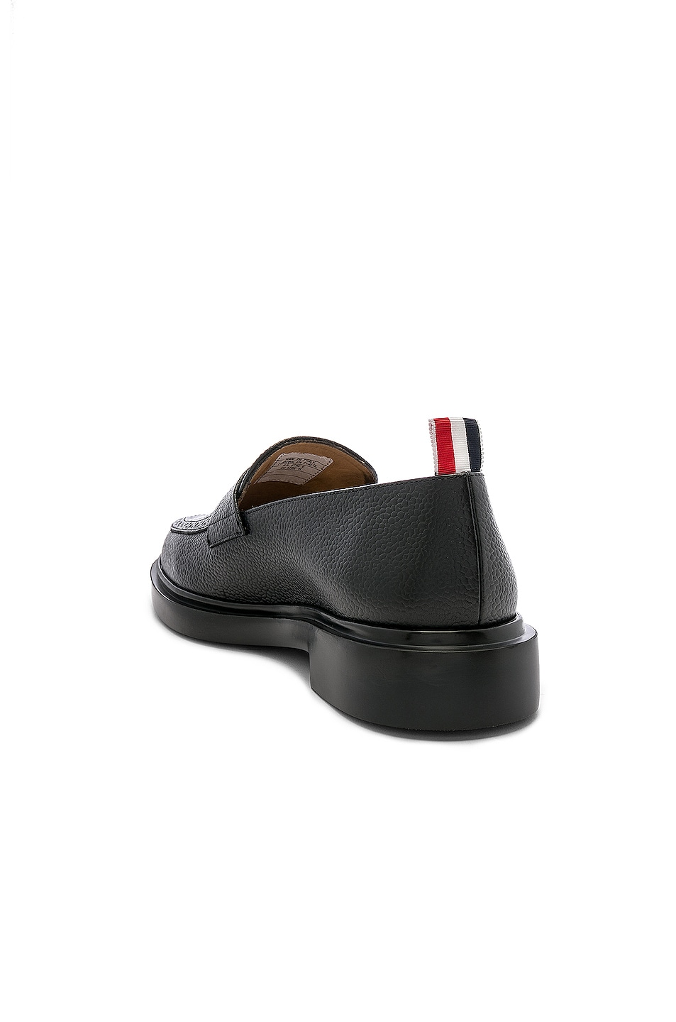 Image 3 of Thom Browne Rubber Sole Loafer in Black