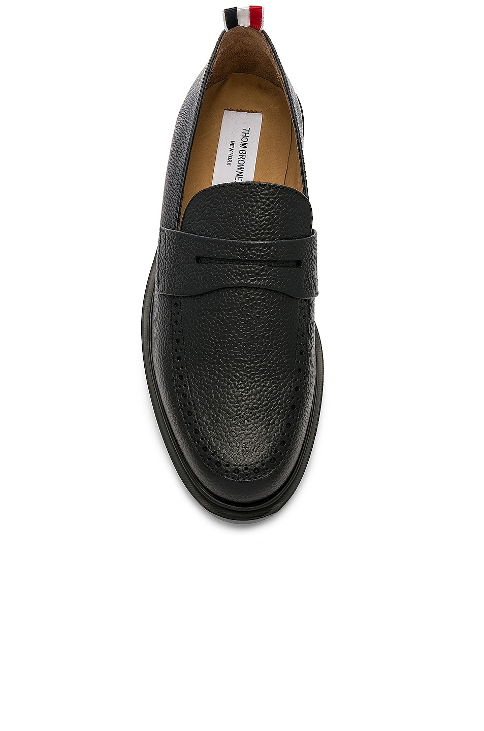Image 4 of Thom Browne Rubber Sole Loafer in Black