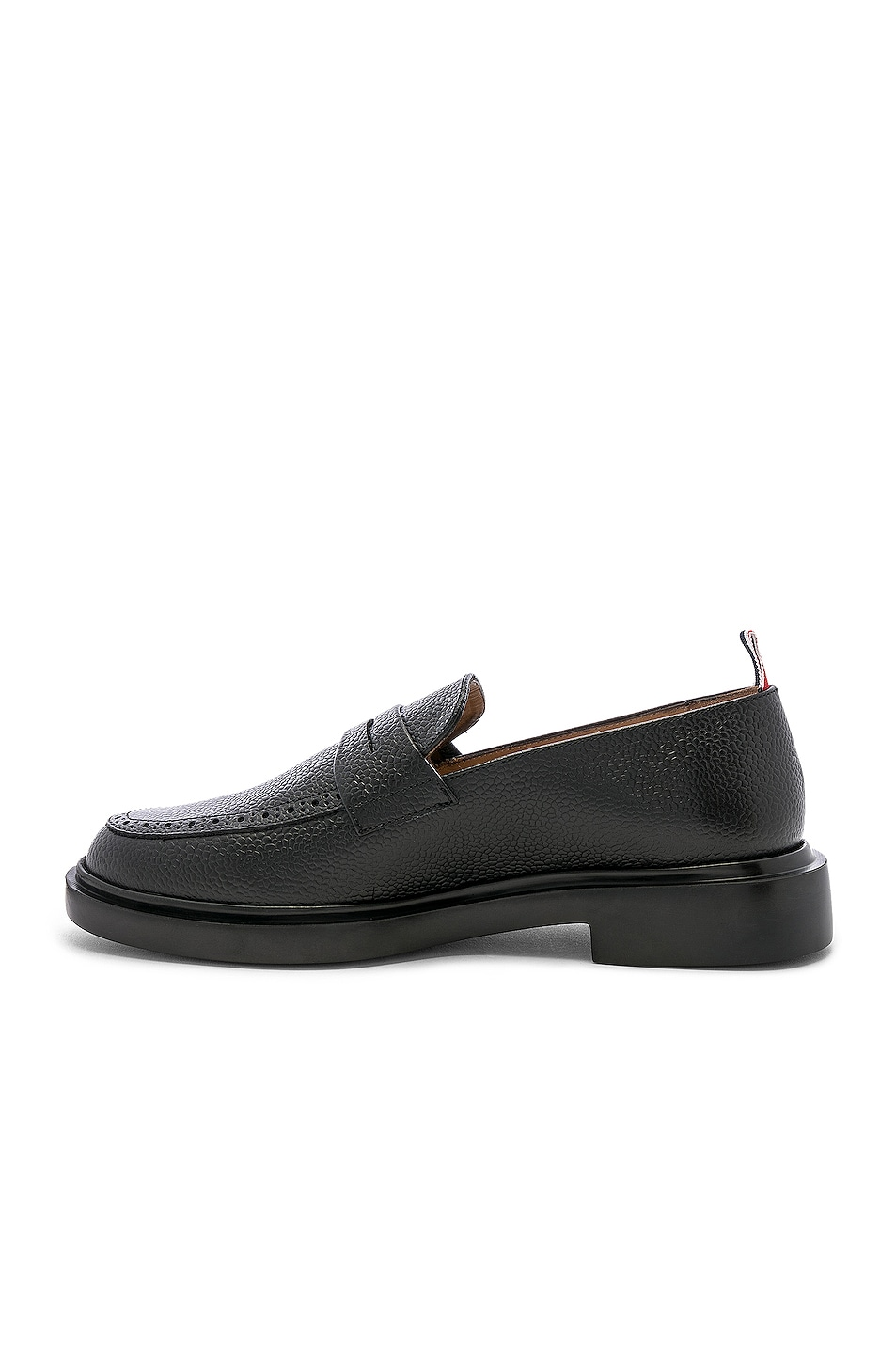 Image 5 of Thom Browne Rubber Sole Loafer in Black