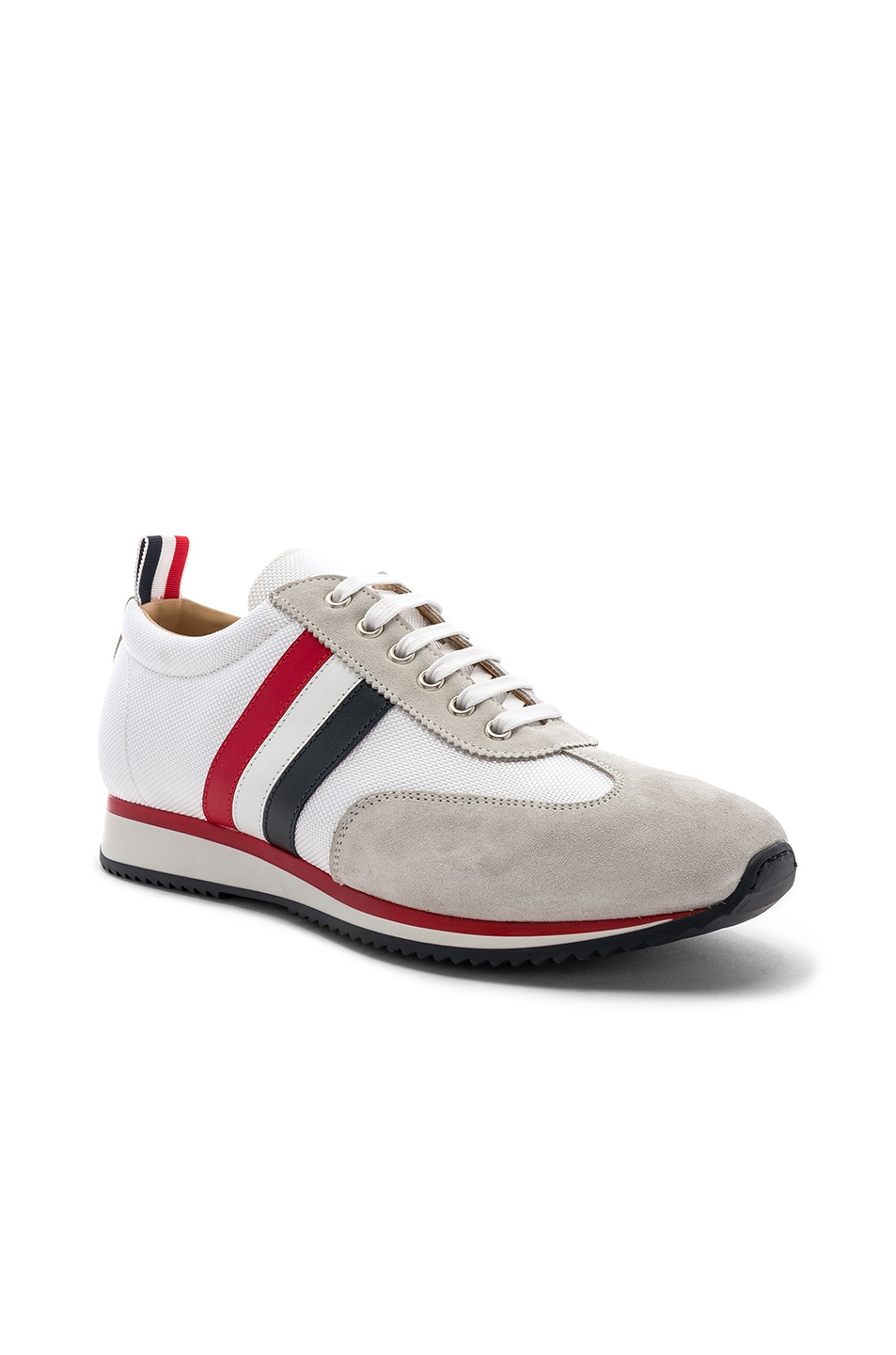 Image 1 of Thom Browne Running Shoe in White