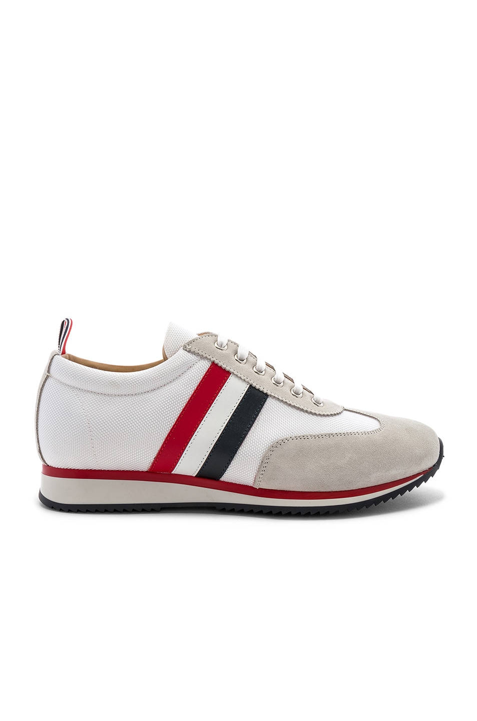 Image 2 of Thom Browne Running Shoe in White