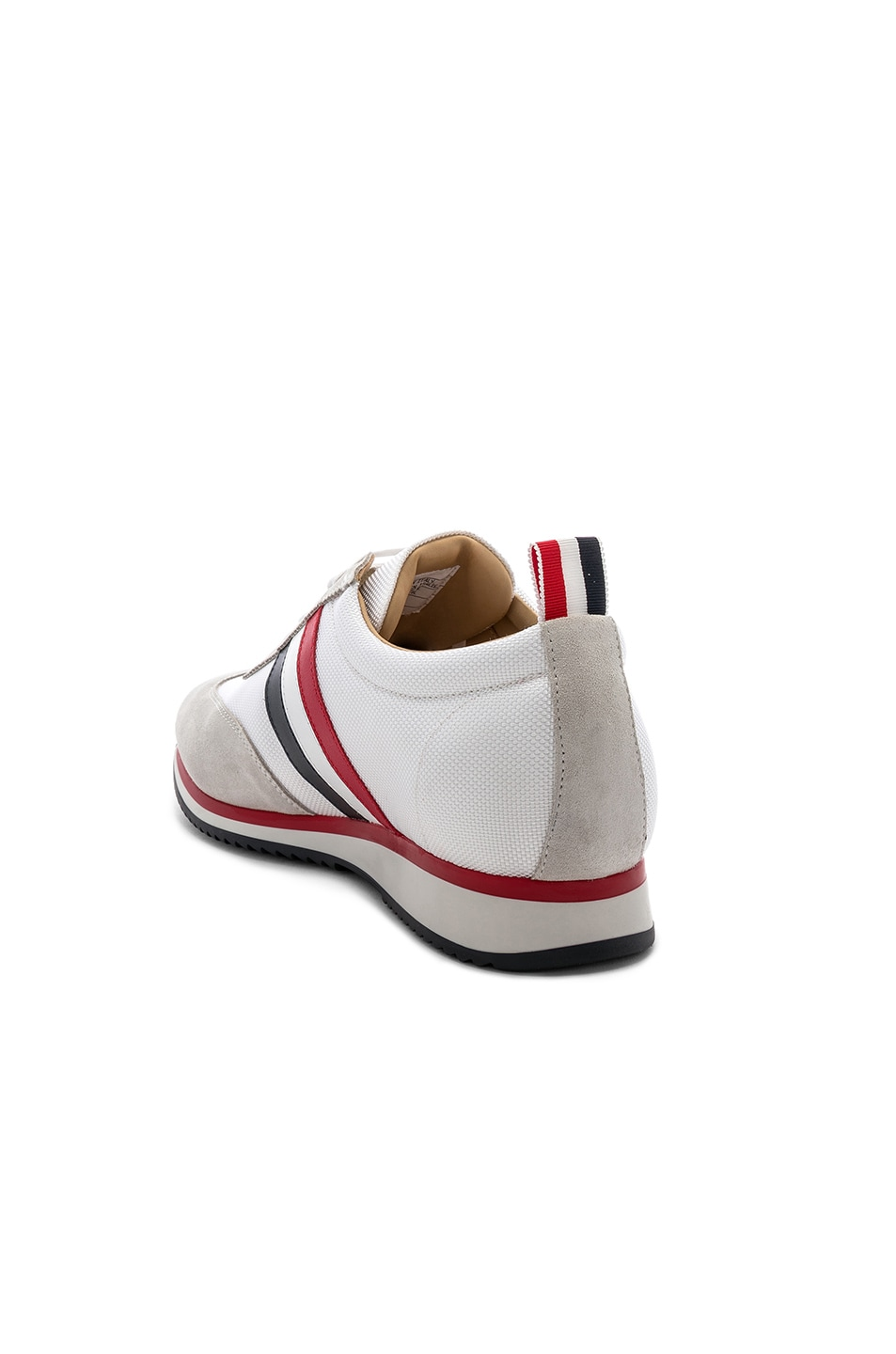 Image 3 of Thom Browne Running Shoe in White