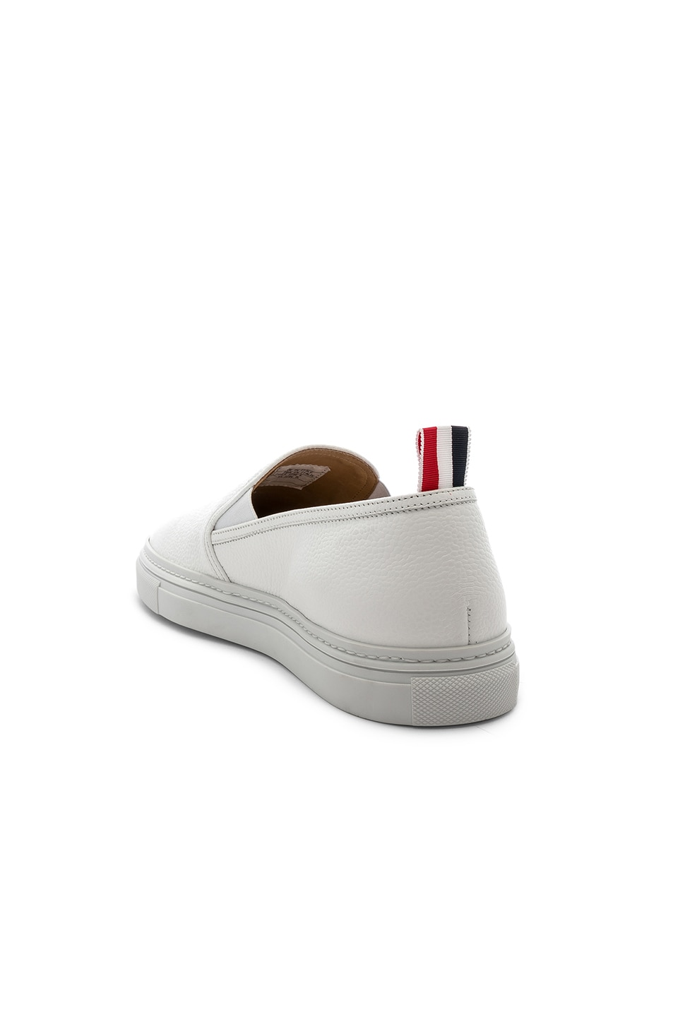 Image 3 of Thom Browne Slip On Trainer in White