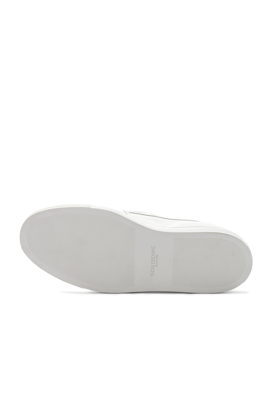 Image 6 of Thom Browne Slip On Trainer in White