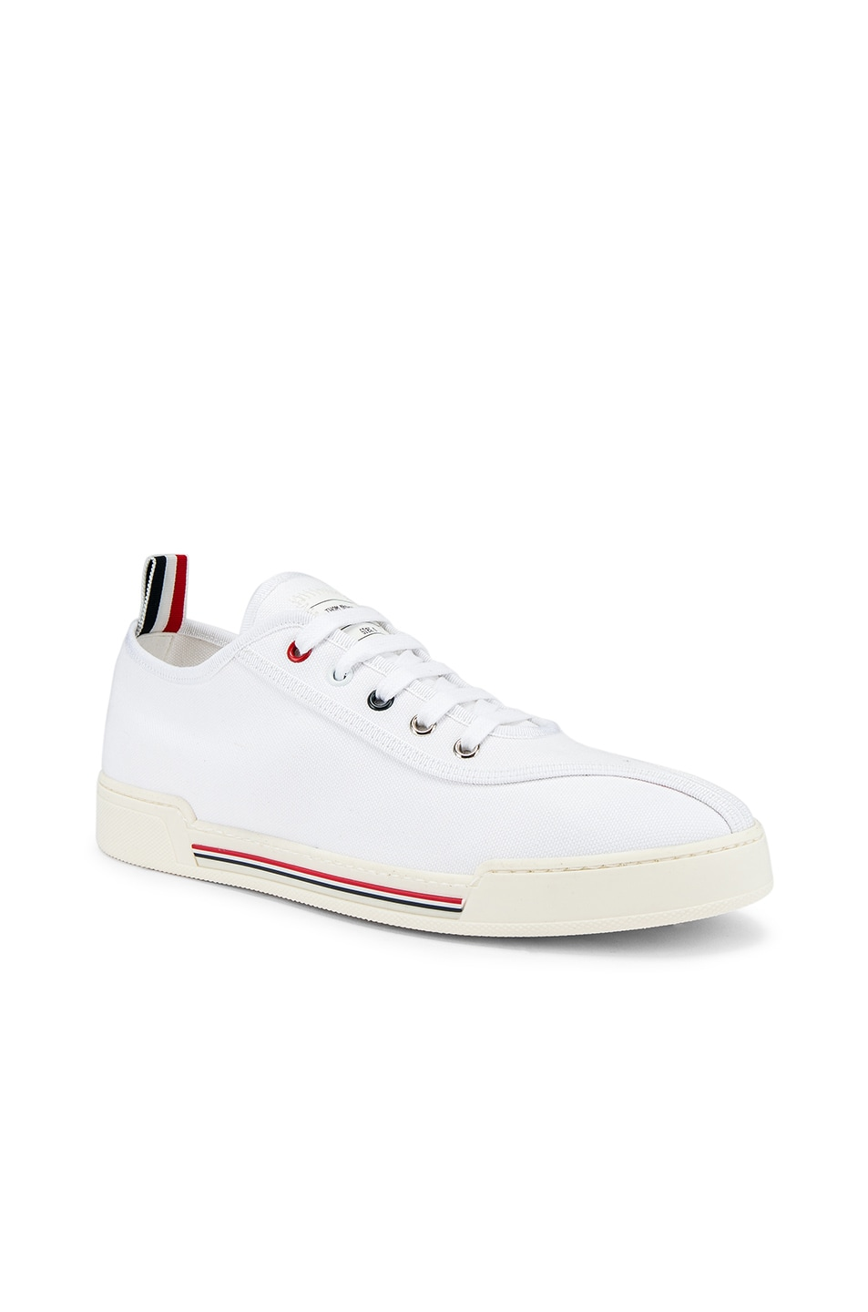 Image 1 of Thom Browne Trainer Paper Label Sneaker in White