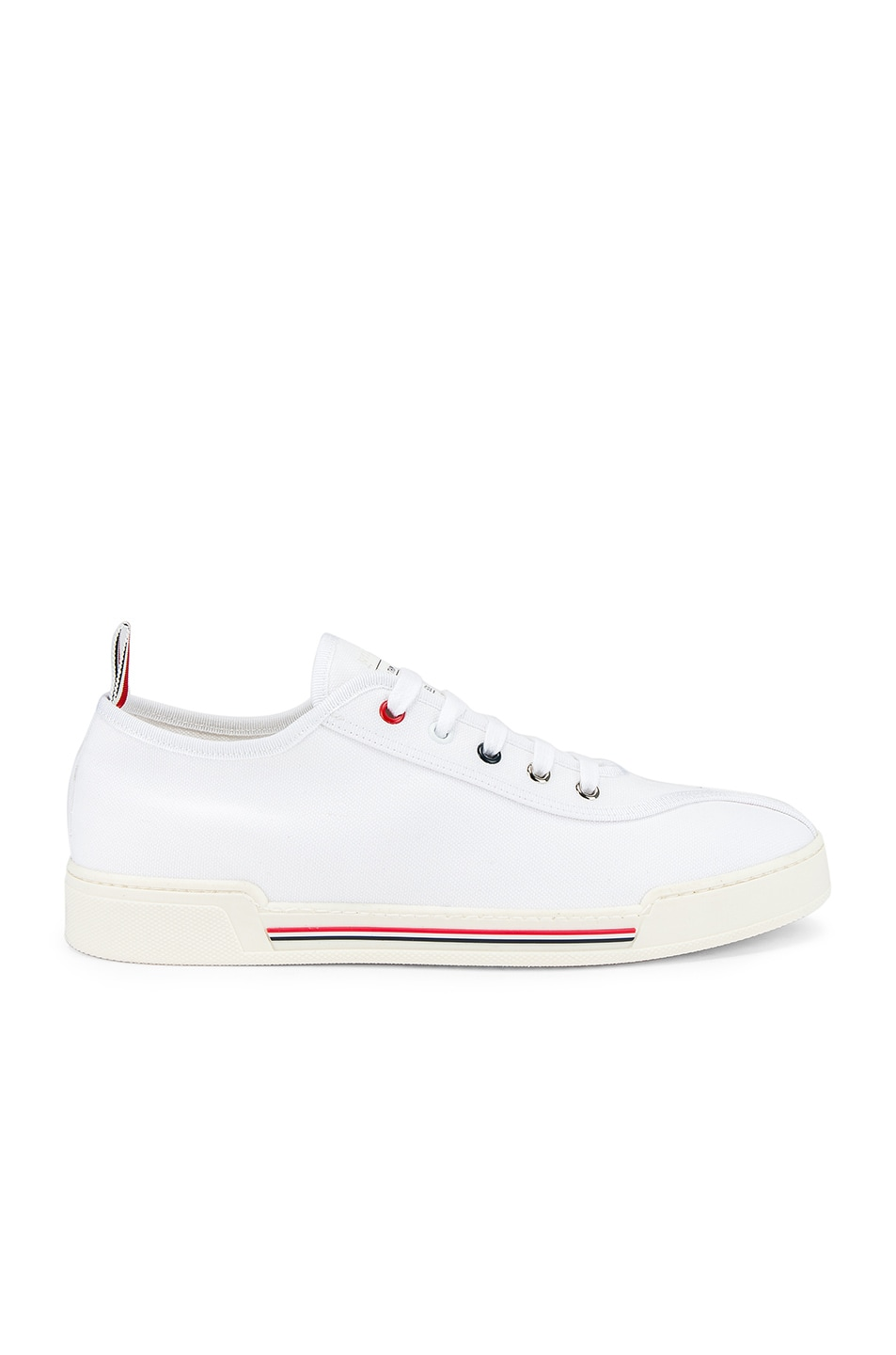 Image 2 of Thom Browne Trainer Paper Label Sneaker in White