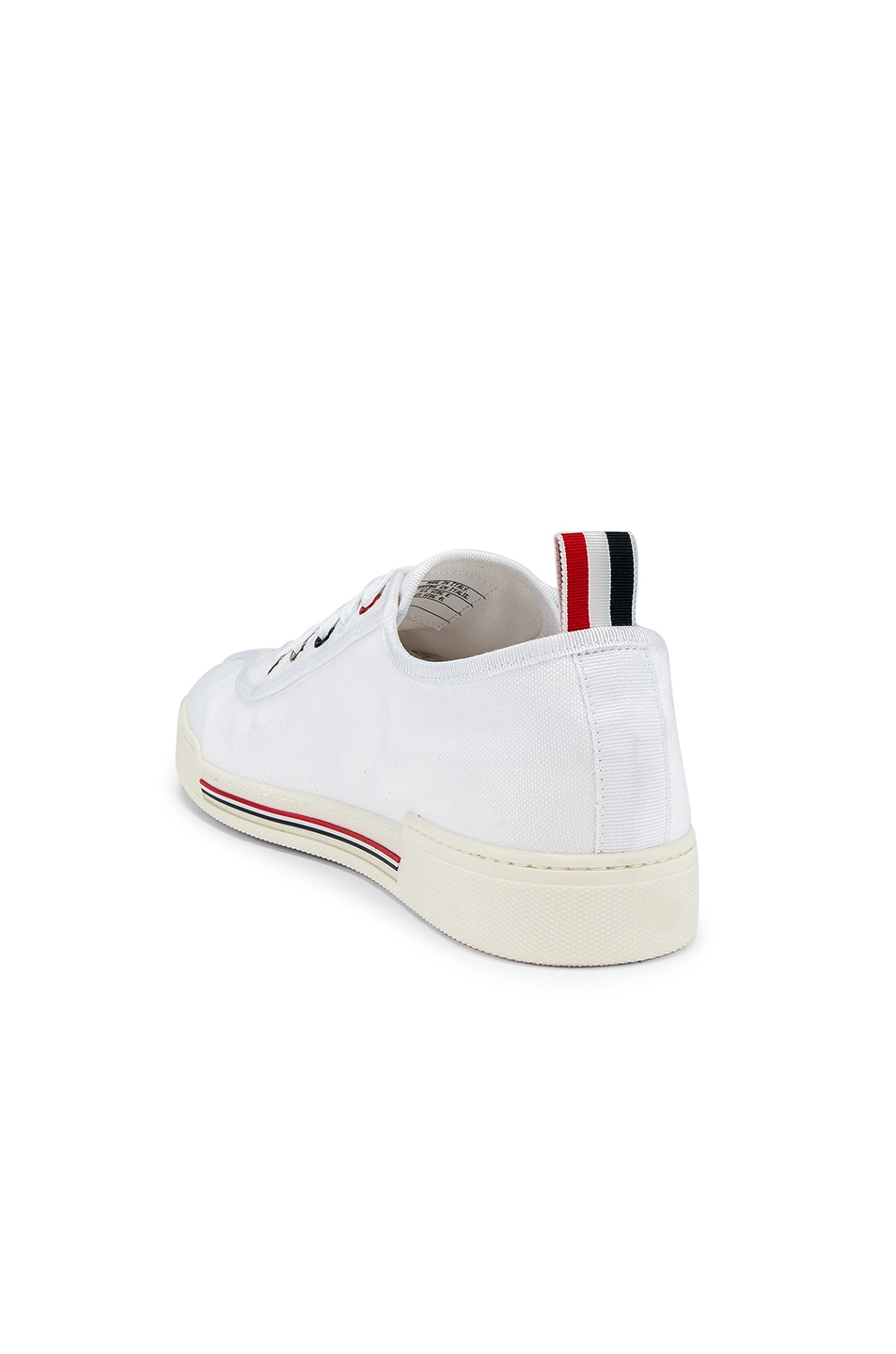 Image 3 of Thom Browne Trainer Paper Label Sneaker in White