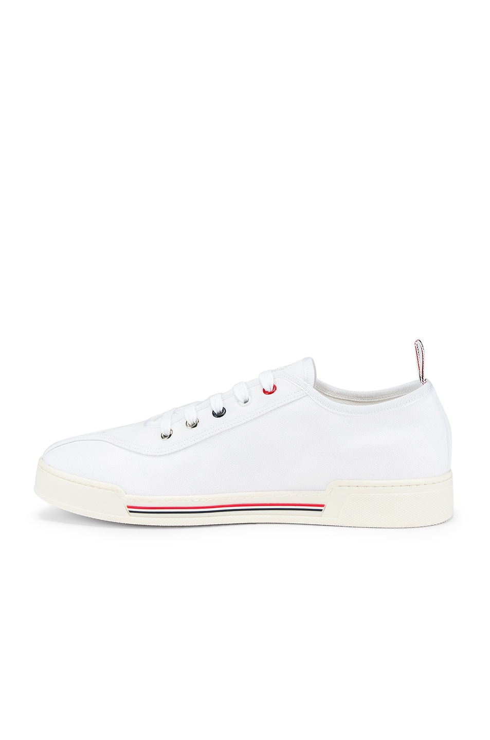 Image 5 of Thom Browne Trainer Paper Label Sneaker in White
