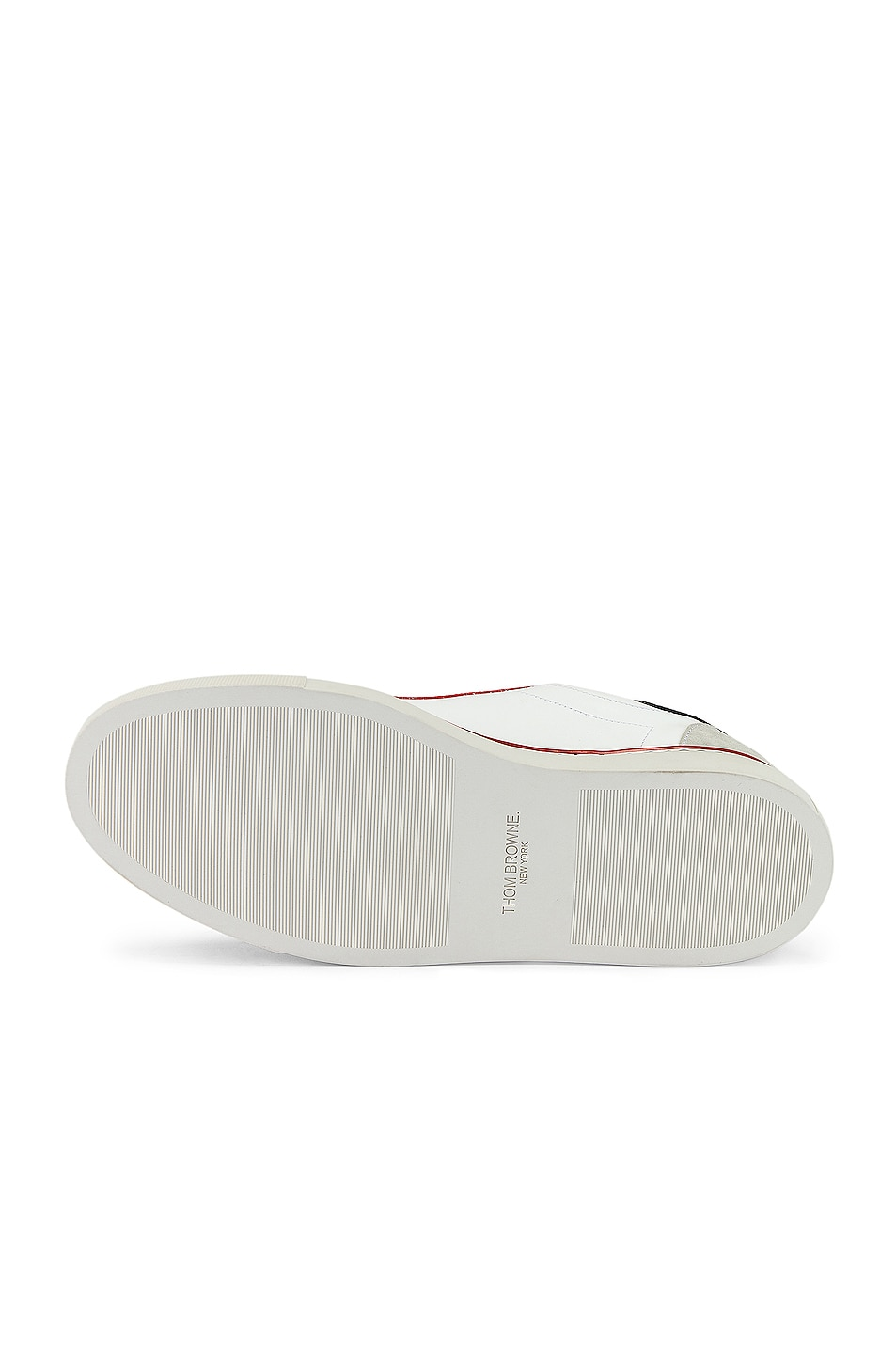 Image 6 of Thom Browne Leather Sneaker in White