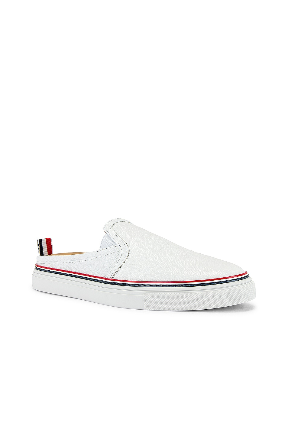 Image 1 of Thom Browne Slide Trainer in White