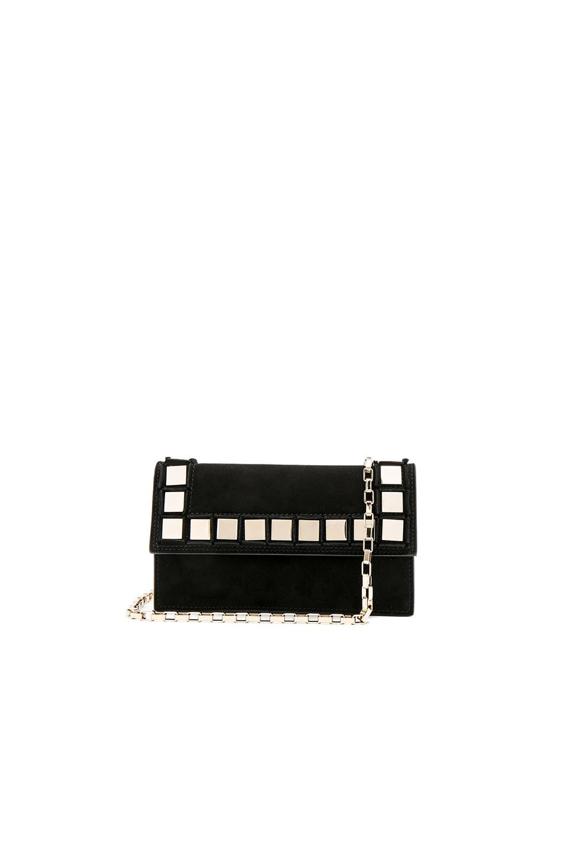 Image 1 of Tomasini Amber Bag in Black & Light Gold