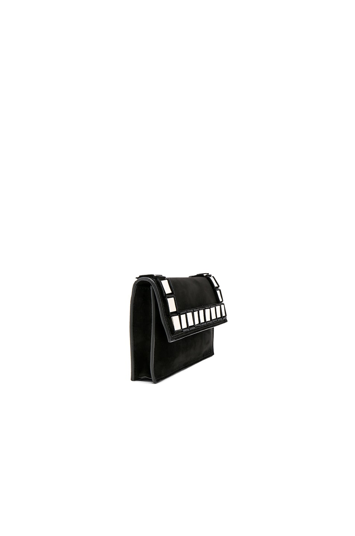 Image 3 of Tomasini Amber Bag in Black & Light Gold