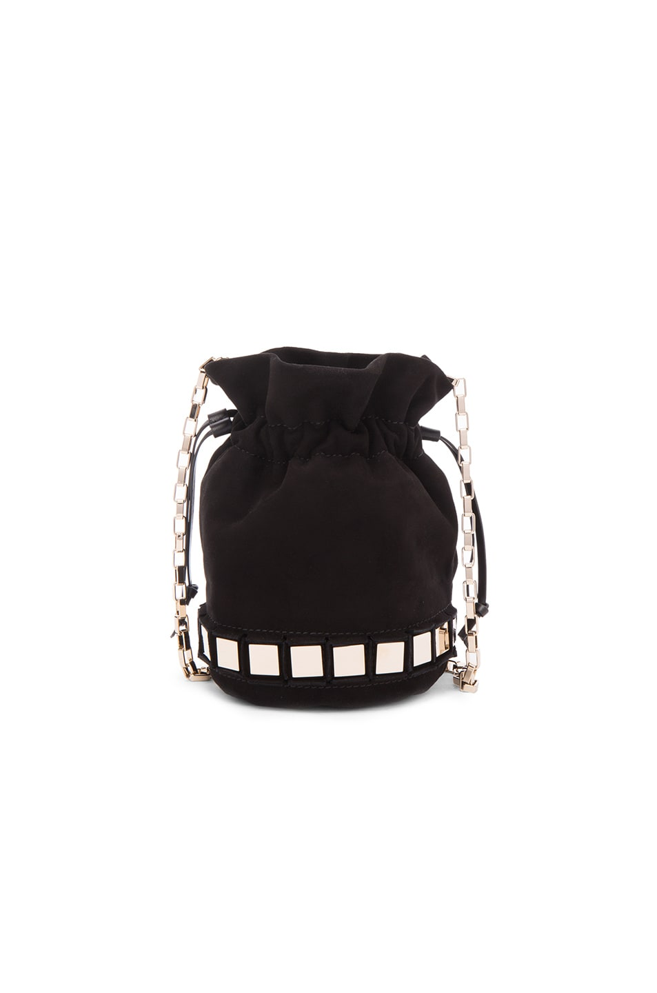 Image 1 of Tomasini Lucile Bag in Black & Light Gold