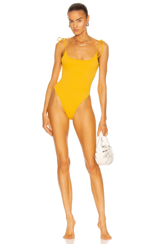Image 1 of Tropic of C Bo Swimsuit in Mango