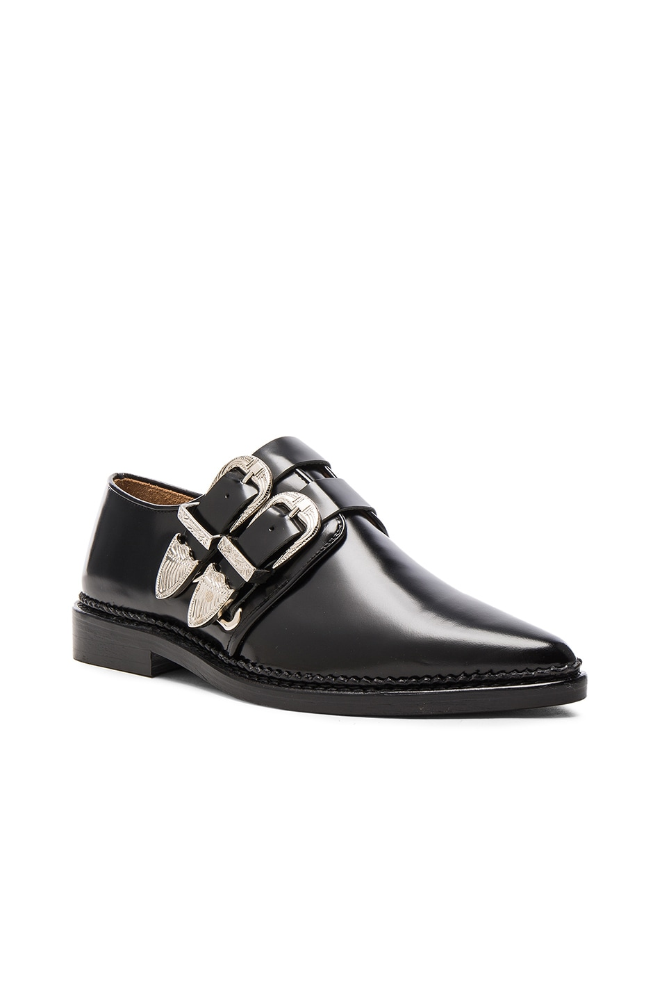 free shipping footlocker latest collections online Toga Pulla Black Buckles Oxfords LRJa90