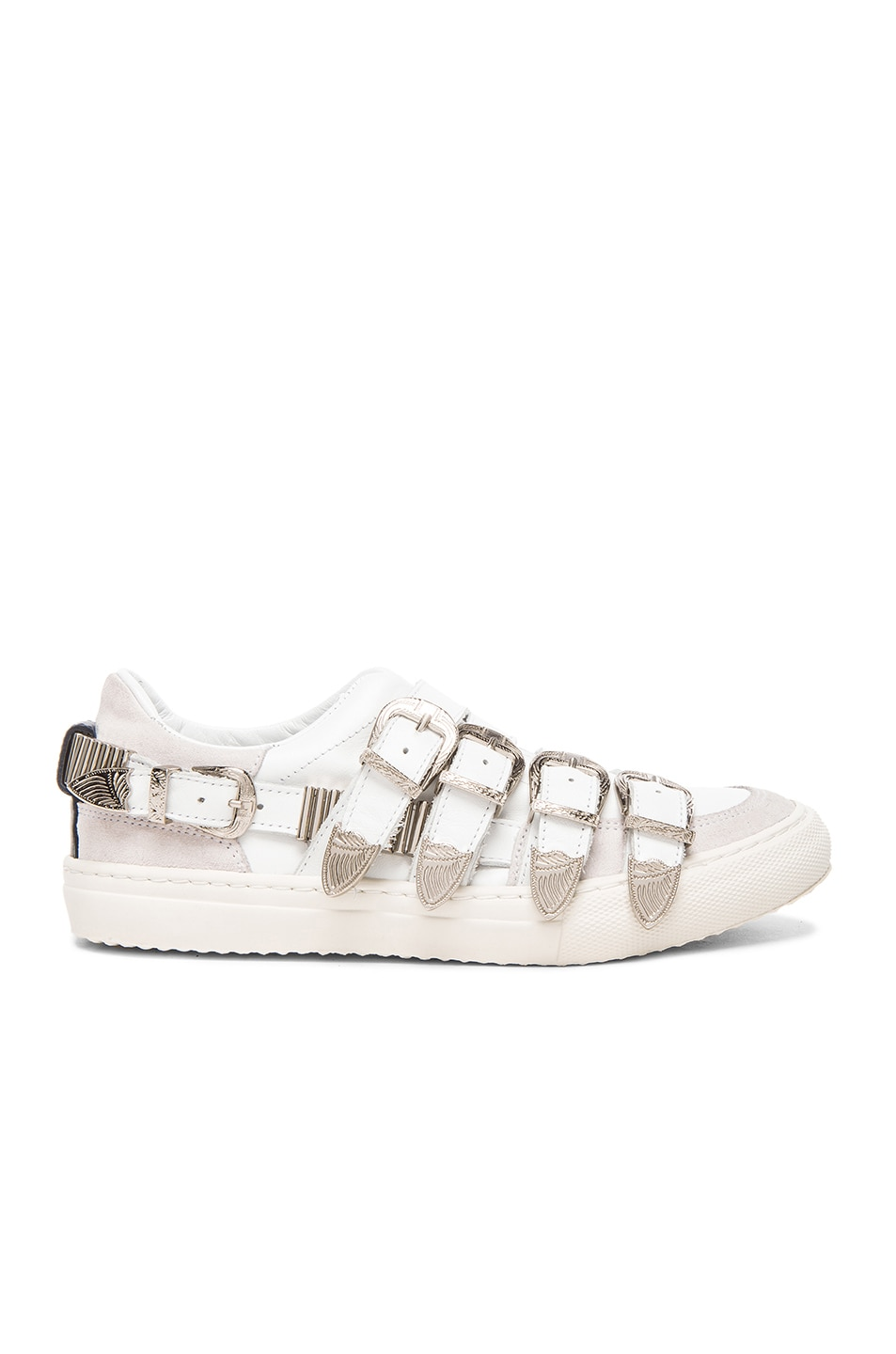 White Leather Sneakers Toga Archives nCMmXk