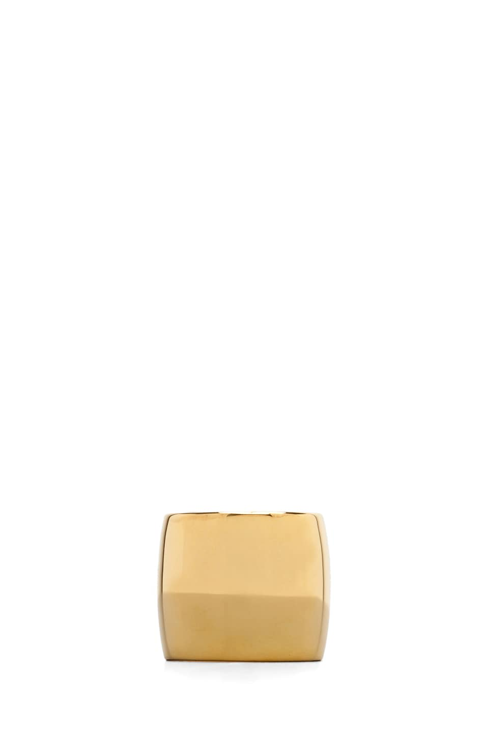 Image 1 of Tom Binns Classic Plated Ring in Gold