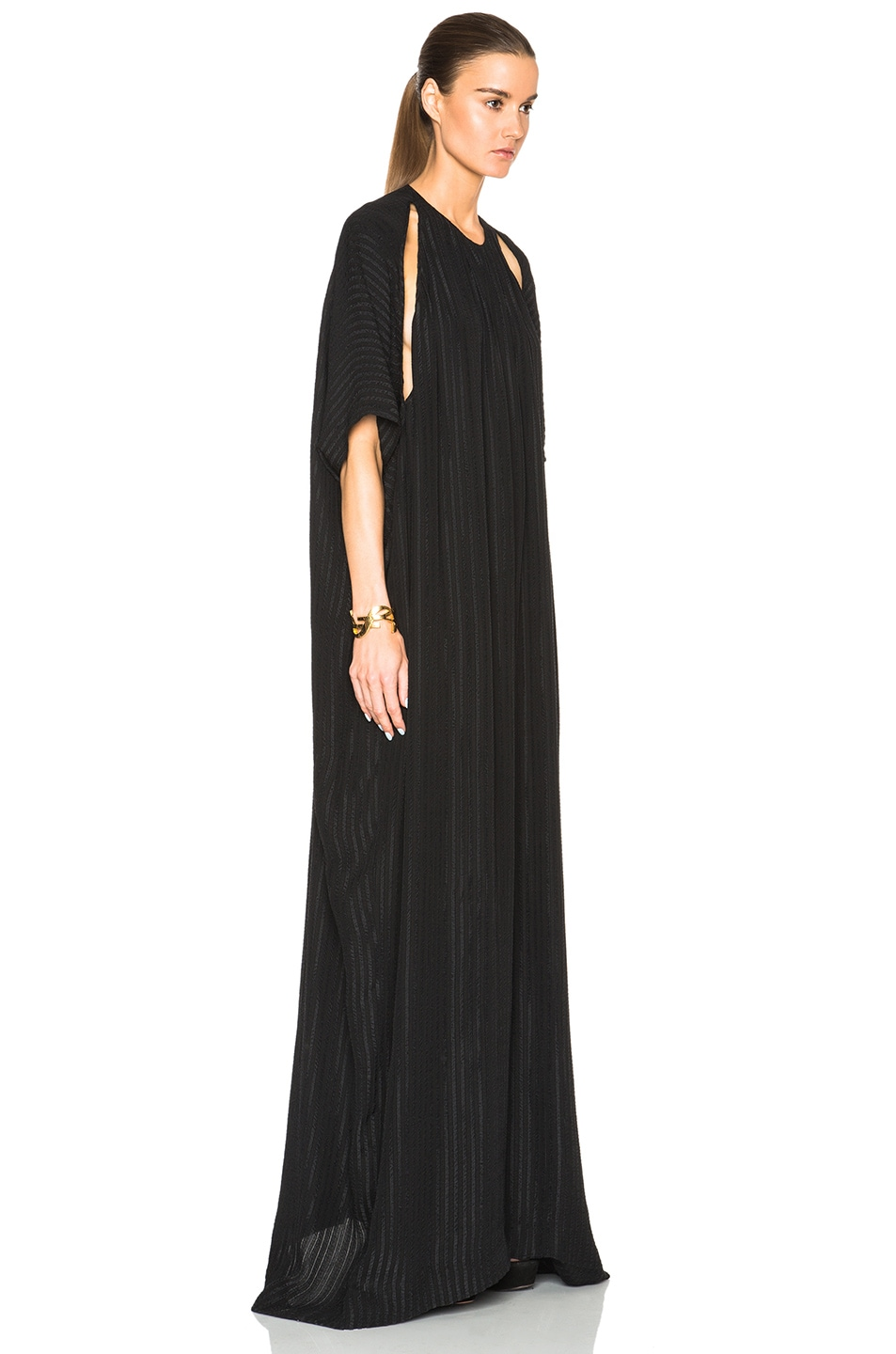 Image 3 of Tome Matelasse Oversized Jumpsuit in Black