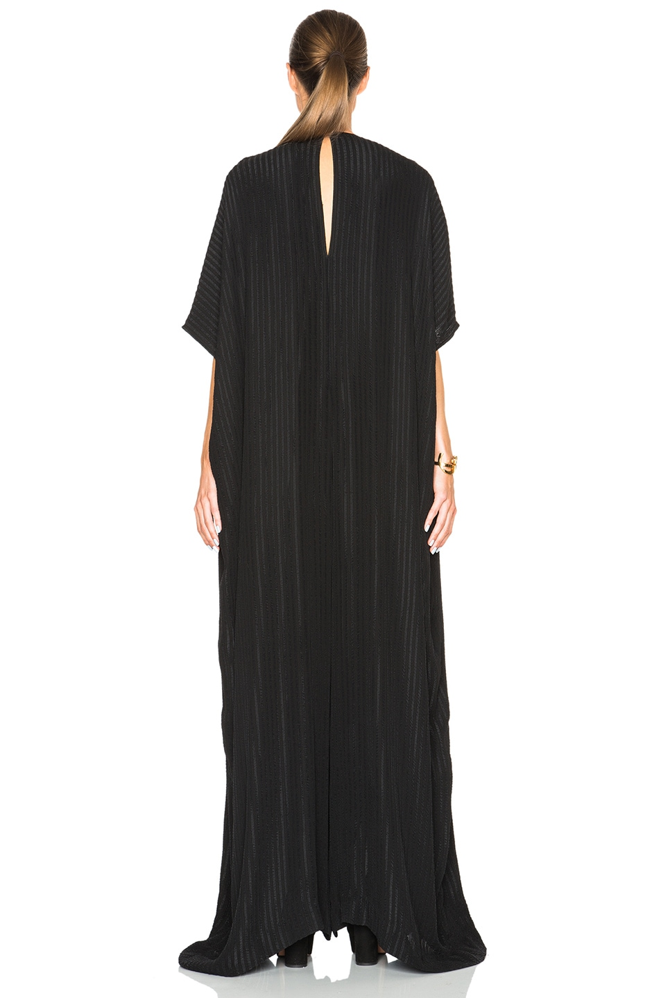 Image 4 of Tome Matelasse Oversized Jumpsuit in Black