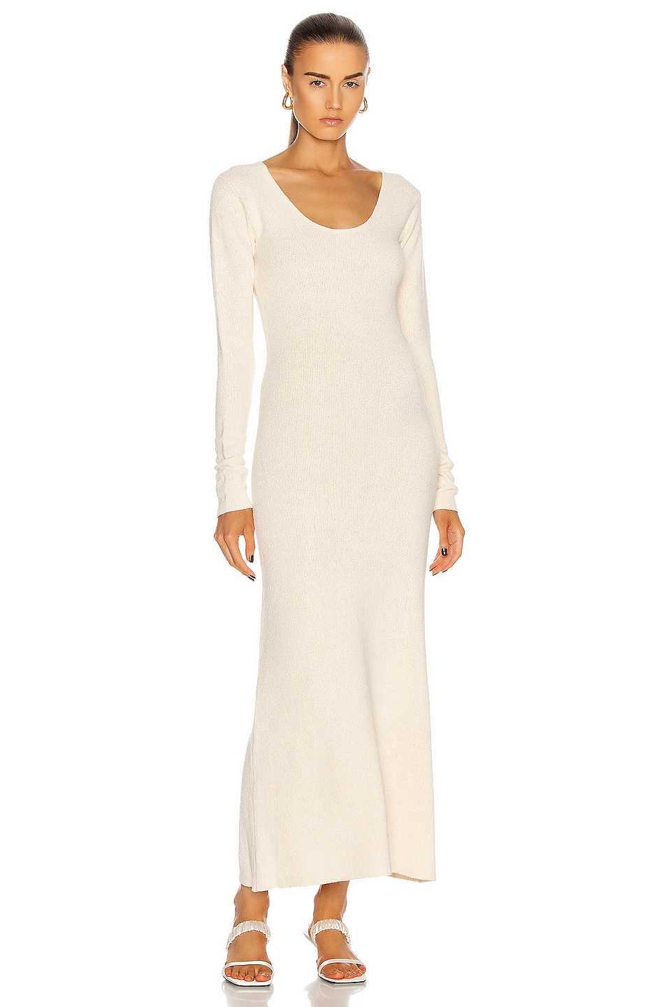 Image 1 of Toteme Molveno Dress in Ivory