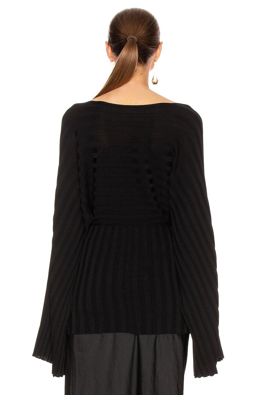Image 3 of Toteme Maristella Top in Black