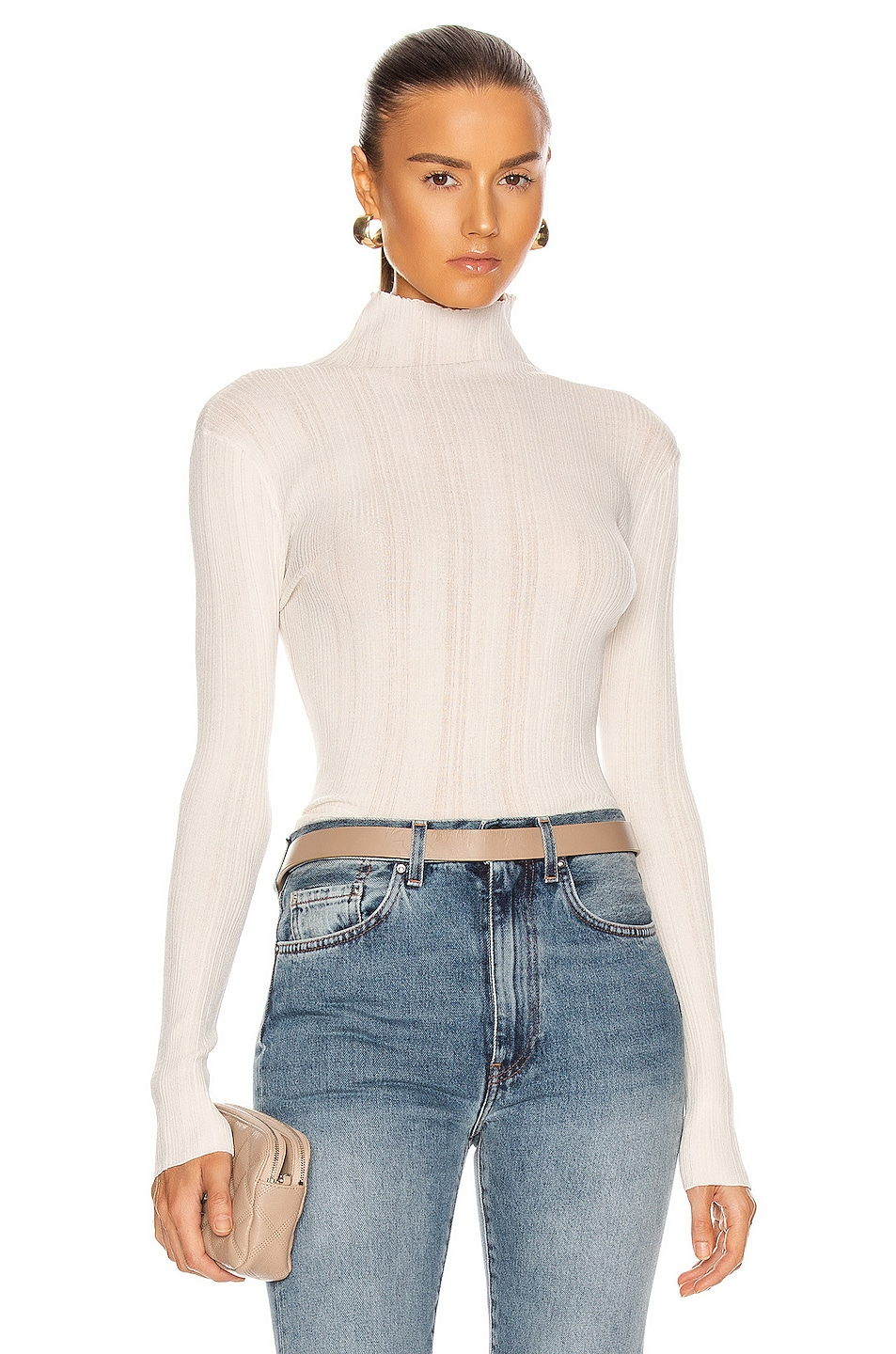 Image 1 of Toteme Narano Sweater in Ivory