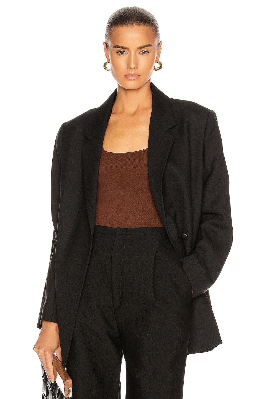 Image 1 of Toteme Loreo Blazer in Black