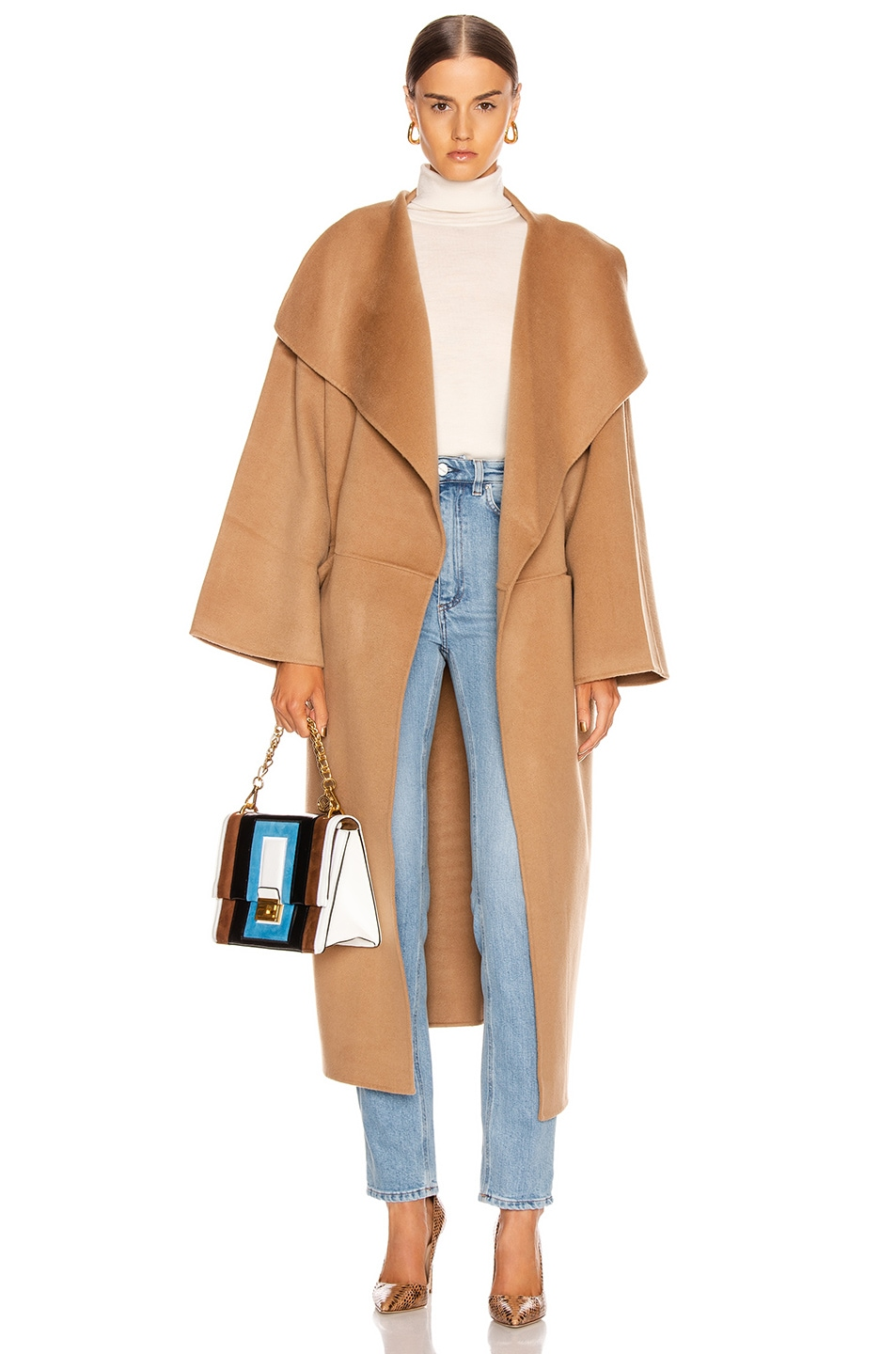 Image 1 of Toteme Annecy Coat in Camel