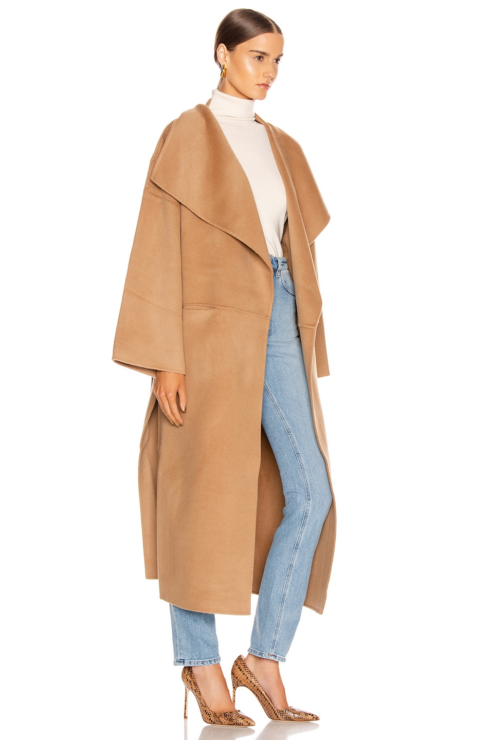 Image 2 of Toteme Annecy Coat in Camel