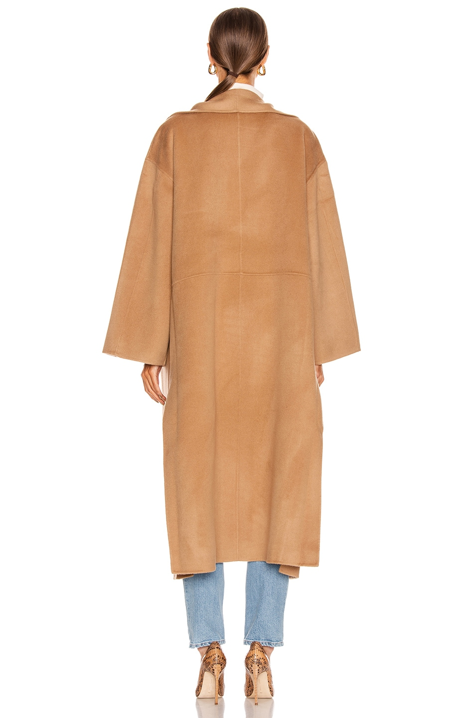 Image 3 of Toteme Annecy Coat in Camel