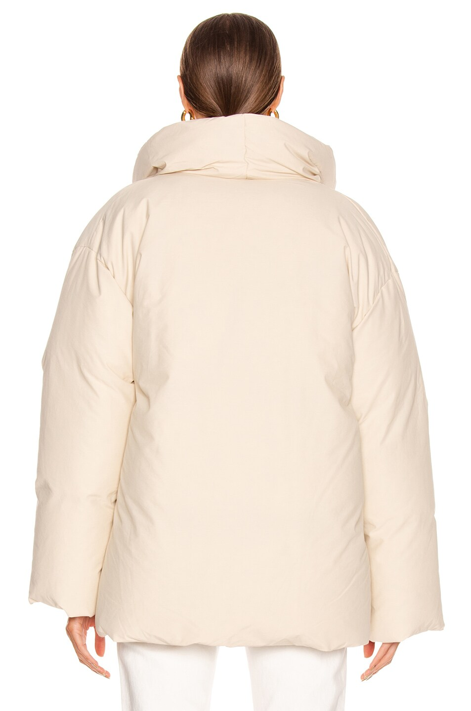 Image 4 of Toteme Annecy Down Jacket in Ivory