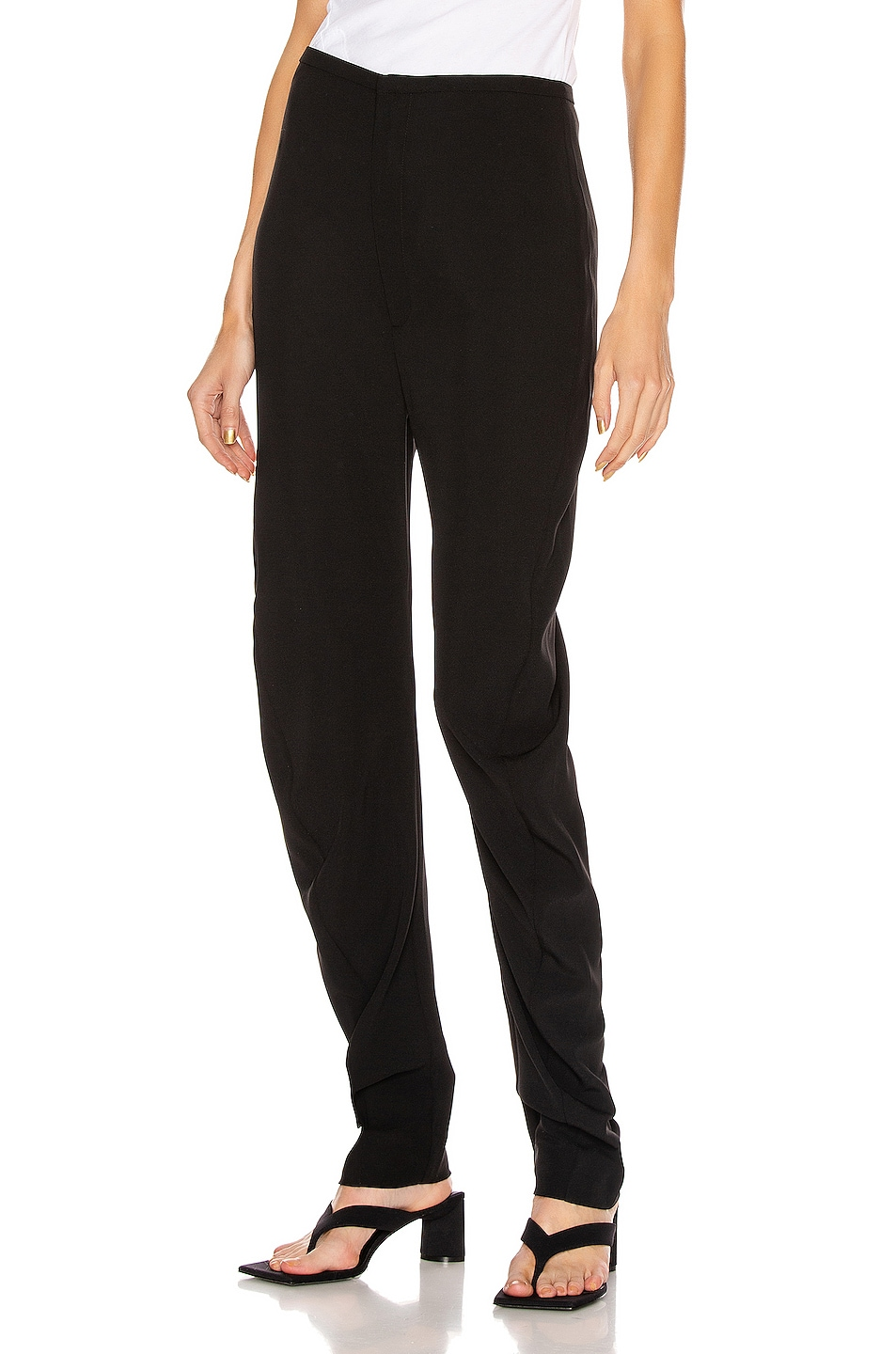Image 1 of Toteme Barro Trousers in Black