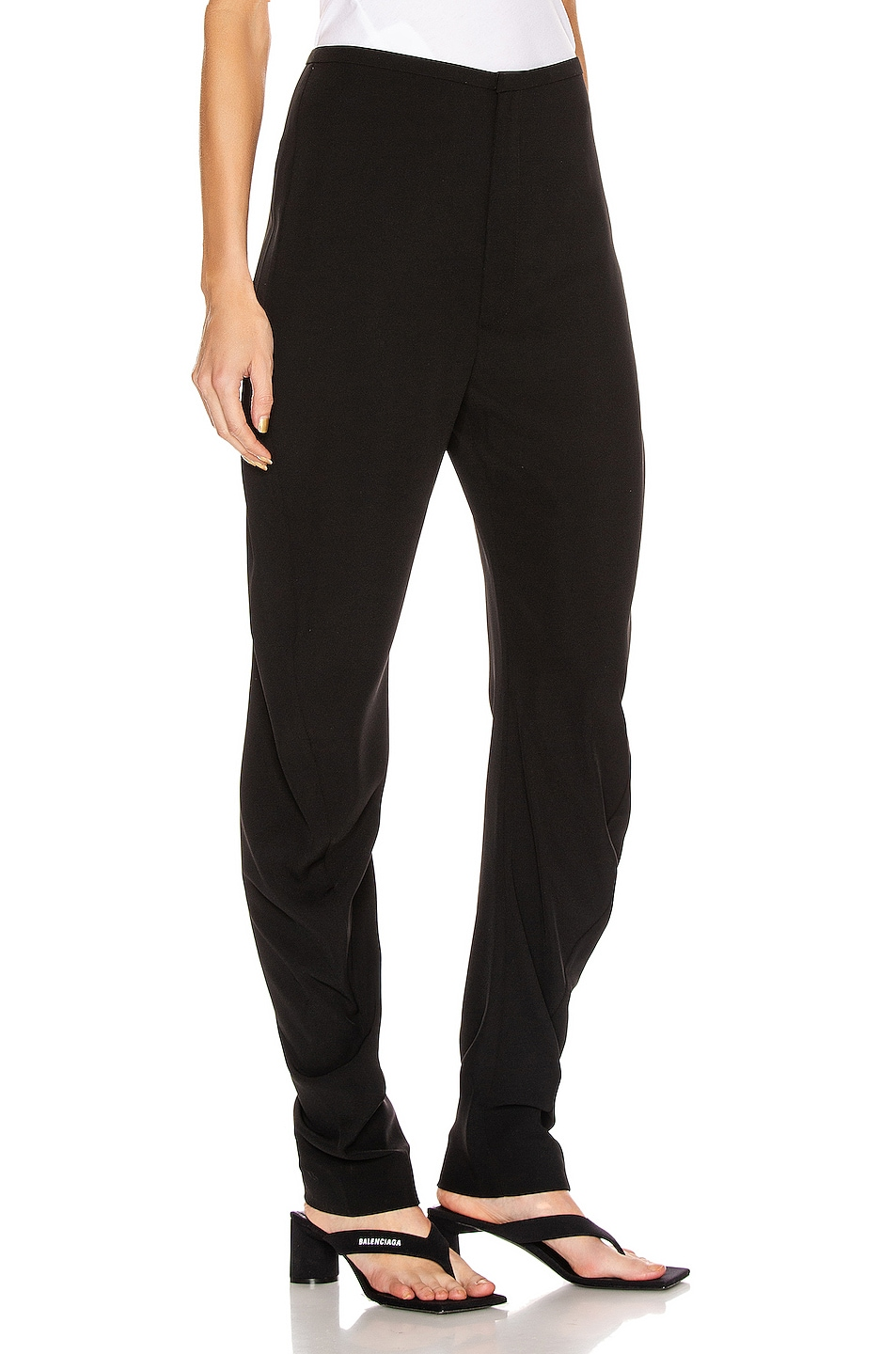 Image 2 of Toteme Barro Trousers in Black