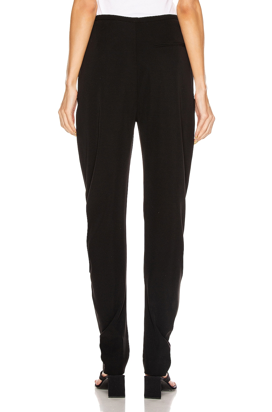 Image 3 of Toteme Barro Trousers in Black